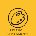 CREATIVE + PERFORMANCE