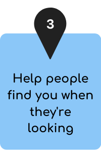 how community centres can help people find you when they're looking